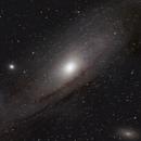 M31 - Globular Clusters,                                silentrunning