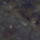 Constellation Sagitta with Dumbbell Nebula (M27) (2021-10-07),                                AstroHannes68