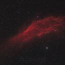 First light SharpStar 76EDPH / NGC 1499,                                Christophe Perroud