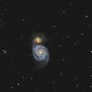 Whirlpool Galaxy,                                Anis Abdul