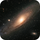 M31, The Andromeda Galaxy, HaLRGB,                                riot1013