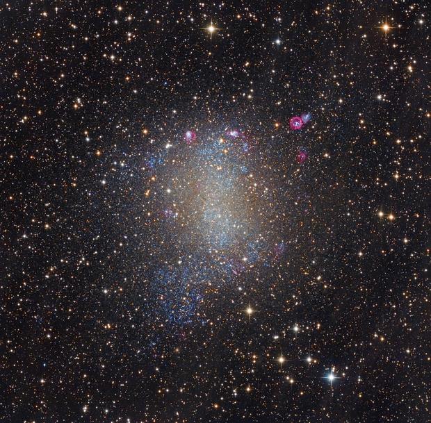 Barnard's Galaxy (NGC 6822),                                KuriousGeorge