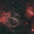 SH2-157 Lobster Nebula and friends,                                Terri