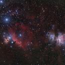 M42 Orion Nebula and B33  Horsehead nebula,                                Giorgio Ferrari