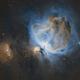 M 42 - Hubble Palette (SHO),                                James E.