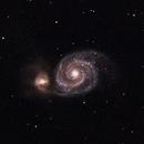 Messier 51 - Whirlpool Galaxy,                                Andy Harrell