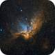 The Wizard Nebula in SHO,                                Alex Roberts