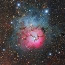 Messier 20 - Trifid Nebula,                                Stefan Westphal