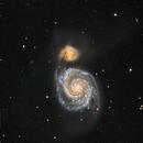 M51 - First Light,                                Andreas Dietz