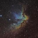 NGC 7380 - The Wizard Nebula,                                Keith Bramley