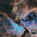 Gabriela Mistral, Interstellar clouds and Keyhole Nebulae in Carina    ( WR32 - NGC3324 - NGC3372 - IC2599 ),                                Michel Lakos M.