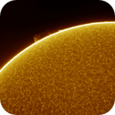 Solar chromosphere and prominence #2,                                Andrew Gutierrez