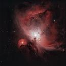 M42 - The Great Orion Nebula,                                William Gillam