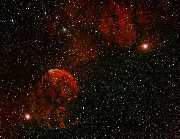 Jellyfish Nebula plus SH2-249 plus IC444,                                bobzeq25