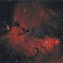 Cone nebula NGC2264 & chritsmas tree cluster HaHOO.,                                lukfer