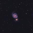 M51 galassia vortice,                                Mari Cristian