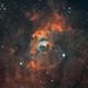 NGC 7635,                                John Leader