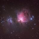 Great Orion Nebula and Running Man Nebula,                                Peter Pat