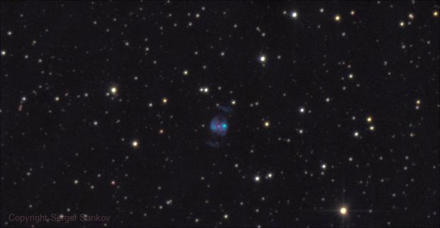 NGC 2371, Planetary Nebula in Gemini.,                                Sergei Sankov