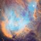 IC 2944 Running Chicken Nebula,                                Bo