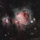 M 42 & M 43 - Great Orion Nebula and Running Man Nebula,                                Mirosław Stygar