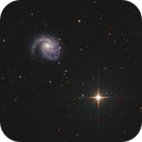 M99 with NGC4302 and NGC4298,                                Bart Delsaert