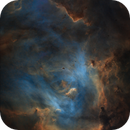 The nebulosity in IC2944 (starless),                                Diego Gravinese