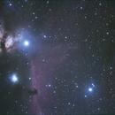 Barnard 33 - Pferdekopfnebel &  NGC 2024 - Flammennebel,                                Markus Stadler