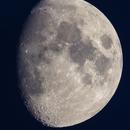 Dusk moon mosaïc - 37,5Mpix,                                Jocelyn Podmilsak