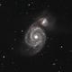 M51 - Whirlpool Galaxy,                                Stephan