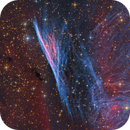 Pencil Nebula [ NGC 2736 ] | LRGB Ha OIII | DSW,                                Kiko Fairbairn