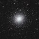 Messier 92 in Hercules (Crop),                                Steve Milne