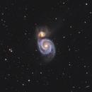 The Whirlpool Galaxy HaRGB,                                Chris Parfett @astro_addiction