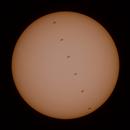 ISS Sun transit,                                F83eric