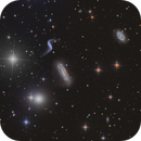 Interacting Galaxies NGC 3190, 3185, 3187, 3193,                                flyingairedale