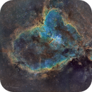 Heart Nebula (Sh2-190) - 2x2 Mosaic,                                Ara