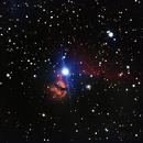 Nebulosa de la Flama y Cabeza de caballo,                                Wilmari