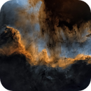 Starless Cygnus Wall in the Hubble Palette,                                Chuck's Astrophotography