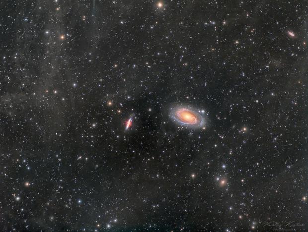 M81, M82 and surrounding IFN,                                Nicolas Kizilian