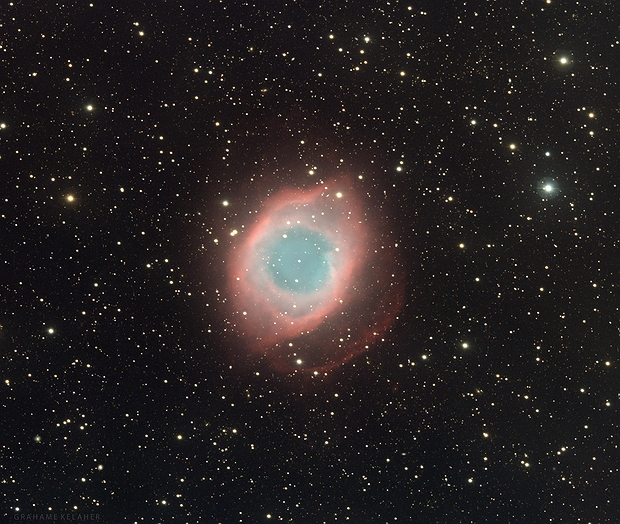 NGC 7293 - Helix Nebula,                                Grahame