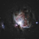 The Great Orion Nebula (M42) and Running Man Nebula (M43),                                Drew Evans
