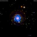 ngc3344 galassia nel leone minore                                             distanza  59 milioni   A.L:,                                Carlo Colombo