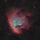 NGC281 Pacman nebula in HOO,                                Jean-François Dou...