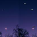 Crescent Moon and Venus,                                Kurt Zeppetello