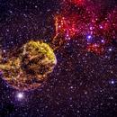 IC 443 The Jellyfish Nebula,                                Jganz