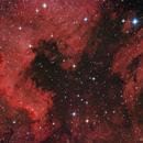 NGC 7000/IC 5067 ein Pelikan trifft auf Nordamerika,                                astrobrandy