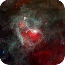 DR22 - Massive Star Bubble in Cygnus X - Spitzer Infra Red Space Telescope,                                Rudy Pohl
