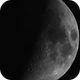 Moon 2020-06-27. Waxing Crescent, 6th day,                                Pedro Garcia