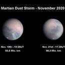Update - Martian Dust Storm in November 2020,                                Michael S.