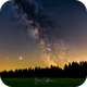 Summer Milky Way,                                Björn Hoffmann